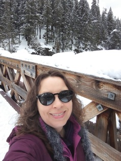Me on the bridge at Longmire