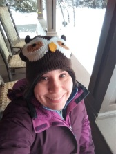 Me and my owl hat!