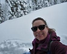 Me, Snowshoeing