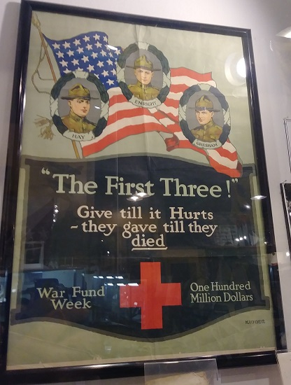 A war bond poster
