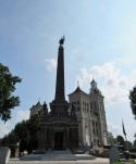 The Civil War Monument in Vincennes