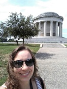 Me with the George Rogers Clark Memorial