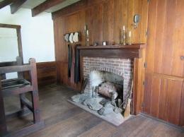 Printer's Shop Fireplace