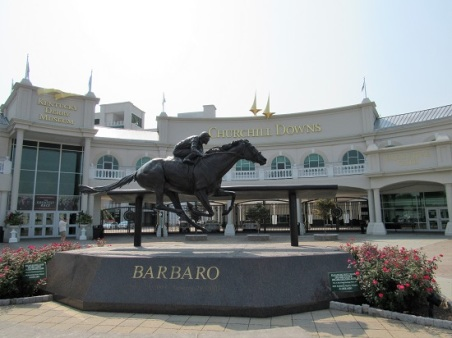 Barbaro raced at Churchill Downs, and sadly died young