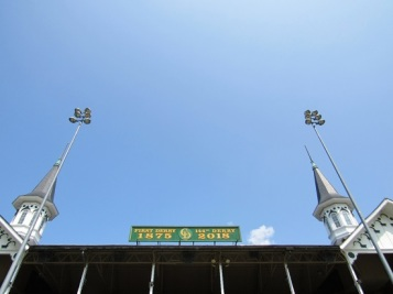 The twin spires - built in 1895