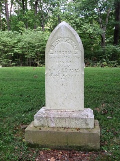 Nancy Hanks Lincoln's grave - Abraham Lincoln's mother