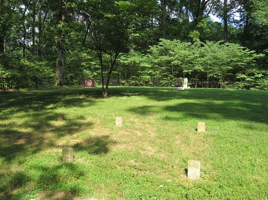 Pioneer Cemetery - where Lincoln's mother is buried