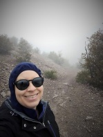 Me in the Chiracahua Fog