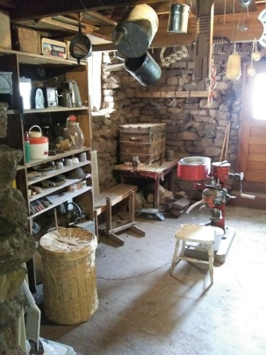 The root cellar at the Faraway Ranch