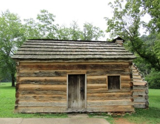 Lincoln's neighbor's cabin