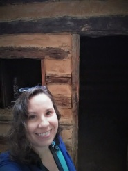 Me with the cabin