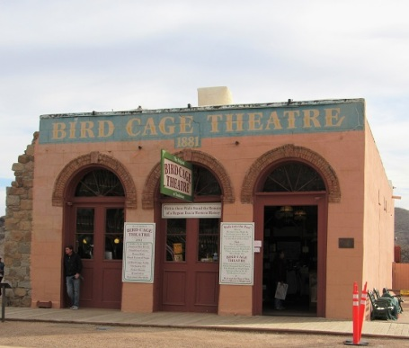 The Bird Cage Theatre - 1881