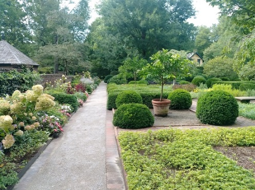 The Ashland formal garden