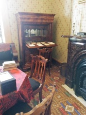 A desk in the Taft home