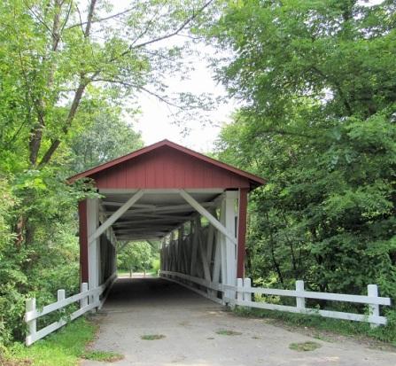 The Everett Covered Bridge (reconstruction)