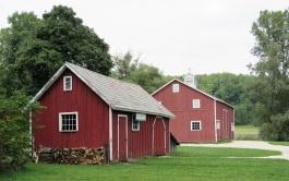 Barns at the Hale Farm