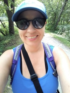 Me on the Towpath Trail