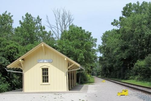 Historic Indigo Lake Train Station
