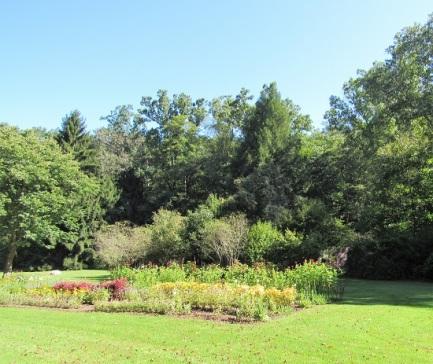 A garden at Fallingwater