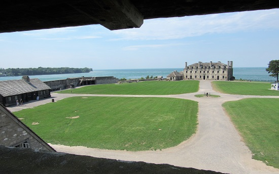 The view from a Guardhouse