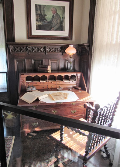 TR wrote at this desk