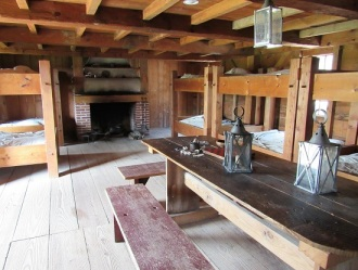 Fort-Stanwix-Bunks