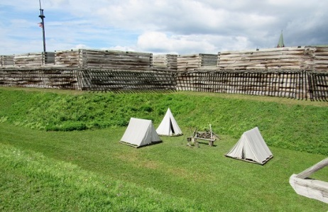 Fort-Stanwix-Tents