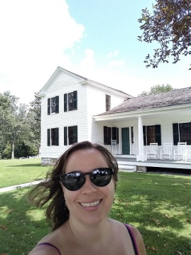 Me with the Stanton House