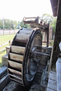 Sawmill waterwheel