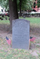 Graves of Boston Massacre Victims